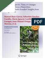 International Journal Primatology Definitive 10.1007