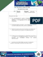 Evidencia 2 Formato Descripcion y Analisis de Cargo (New