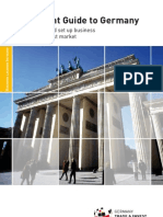 Investment Guide to Germany 2009 GTAI