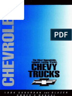 1994 Chevrolet Suburban Owners