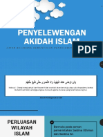 Usuluddin - penyelewengan akidah