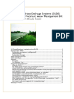 Suds and the Draft Flood and Water Managent Bill
