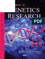 Advances in Genetics Research 16