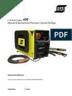 Powercut 900 Manual