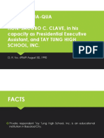 Chua-qua vs. Clave