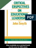 ebooksclub.org__Critical_Perspectives_On_Educational_Leadership__Deakin_Studies_in_Education_Series___3_.pdf