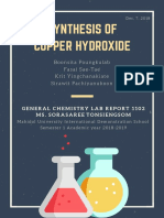 synthesis of copper hydroxide-3