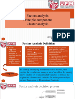 Factors Analysis