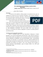 Protocolos Anestesicos Em Femeas Gestantes – Revisao