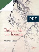 _Declínio de Um Homem_, De Osamu Dazai