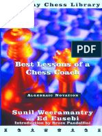 Sunil Weeramantry & Ed Eusebi - Best Lessons of a Chess Coach