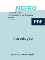 Distúrbios Do Metabolismo Do Potássio