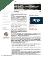 Orientación sexual _ Departamento de Derecho Internacional, OEA