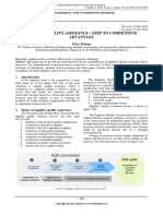Supplier Quality Assurance-Step to Competitive Advantage (1)