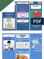 Leaflet Kesehatan Gigi