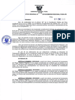 Gobierno Regional Piura 2019
