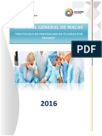 Protocolo de Prevención de Úlceras Por Presión