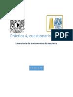 Cuestionario inicial 4 Laboratorio de fundamentos de mecánica FES Aragon