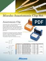 Mizuho Anatastomosis Clip
