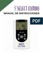 InTENSity Select Combo DI8195 Manual Esp