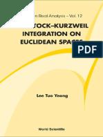 [Tuo Yeong Lee]  Henstock-Kurzweil Integration