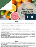 Nanopartículas para volver más biodisponibles los pesticidas
