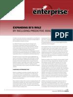 SAP Expanding BI Role