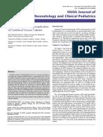 Pleural Effusion as a Complication of Umbilical Venous Catheter