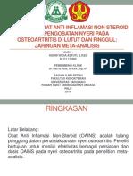 Efektivitas Obat Anti-Inflamasi Non-Steroid