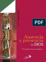 VARGAS GUILLEM, G., Ausencia y  presencia de Dios. 10 estudios epistemologicos,Texto sf.pdf