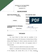 BASF v. CIR