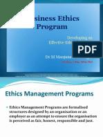 Ethics Programme - Class