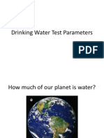 Tapwater Lesson