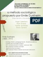 Emile Durkhein