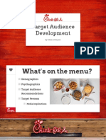media planning - target audience project ppt