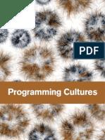 Programming Cultures
