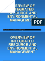 Integrated Resource and Environmental Management