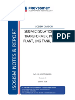 ISO-REPORT-2018-001_Seismic Isolation for Transformer, Power Plant, LNG, & Silo