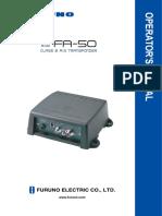 Fa50 Operators Manual