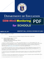 SBM-WinS Monitoring System 20170329
