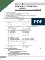 Hsc 2015 October Chemistry