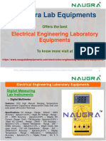 Electronics Engineering Laboratory Equipments Manufacturers in India