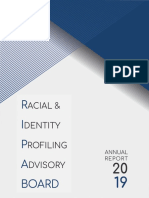 Racial and Identity Profiling Advisory Board Report 2019