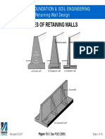 CIVE.4310 Retaining Wall Design