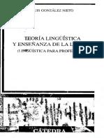 Teoria Linguistica y Ensenanza de Lengua