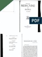Durand 1953 Psychanalyse de La Neige