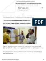 Daily Management System