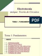 ELECTROTECNIA Principios básicos