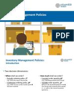 SCM 08 - Periodic Inventory Managament