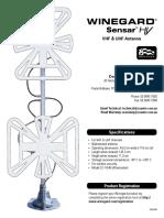 Winegard FreeVision Sensar HV Antenna